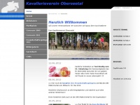 kv-oberseetal.ch Webseite Vorschau
