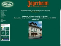 zumjägerheim.de Webseite Vorschau
