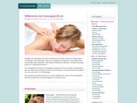 massageprofis.de Webseite Vorschau