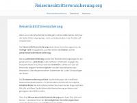 reiseruecktrittsversicherung.org