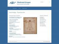 physio-gutachter-riediger.de Webseite Vorschau
