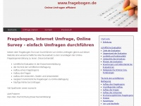 fragebogen.de