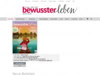 bewusster-leben.de Webseite Vorschau