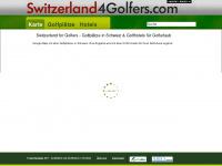 switzerland4golfers.com Webseite Vorschau