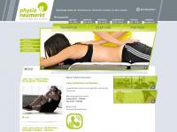 physio-neumarkt.de Webseite Vorschau