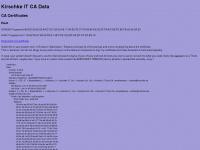 kirschke.de Webseite Vorschau