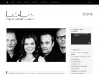 lola-musik.de Webseite Vorschau