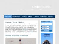 kinder-strand.de Webseite Vorschau