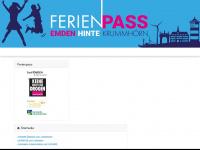 ferienpass-emden.de Webseite Vorschau