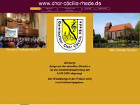 chor-cäcilia-rhede.de Thumbnail