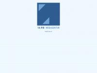 1a-pix.ch Webseite Vorschau