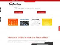 phonephox.de Webseite Vorschau