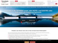 hoteljob-schweiz.de Webseite Vorschau