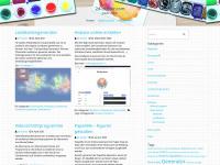 2d-cluster.com Webseite Vorschau