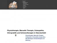 physiotherapie-oberstenfeld.de Webseite Vorschau
