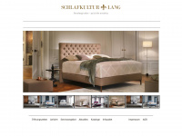 schlafkultur schlafkultur lang luxusbetten. Black Bedroom Furniture Sets. Home Design Ideas