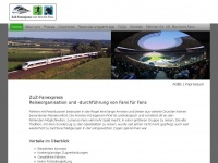 zuz-fanexpress.de Webseite Vorschau