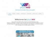 physiowid.de Webseite Vorschau