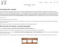 kirchenbaenkestuehle.de Webseite Vorschau