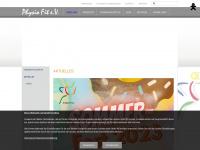 physio-fit-ev.de Webseite Vorschau