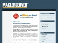 online-makler-software.com Webseite Vorschau