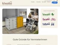 kiwabo.com Webseite Vorschau