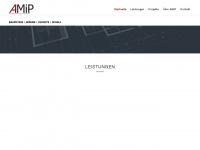 amip.at Webseite Vorschau