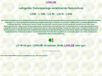 loin.de Webseite Vorschau