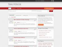 news-artikel.de Webseite Vorschau