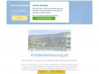 kinderbetreuung.at Webseite Vorschau