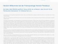 loge-hp.ch Webseite Vorschau