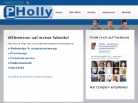 pholly.at Webseite Vorschau