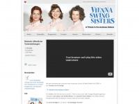 vienna-swingsisters.com Webseite Vorschau