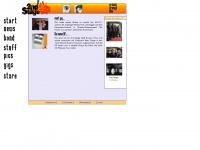 2ndstage-band.de Webseite Vorschau