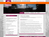 engfle-bau.de Webseite Vorschau