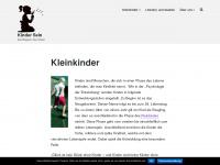 kinder-sein.de Webseite Vorschau