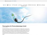 photovoltaikanlagen-hannover.de Webseite Vorschau
