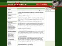 kratzbaumworld.de Webseite Vorschau