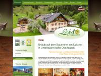 loitzhof.at Webseite Vorschau