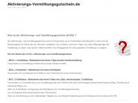Aktivierungs-vermittlungsgutschein.de
