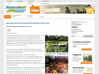 Teichbau forum naturagart teichforum for Fischhaltung im teich