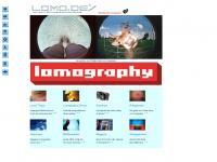 lomo.de Webseite Vorschau
