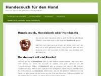 hundecouch.info