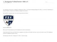 1stuttgarterfv1896.de Webseite Vorschau
