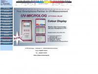 uv-ir-technology.de Webseite Vorschau