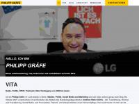philippgraefe.com Webseite Vorschau