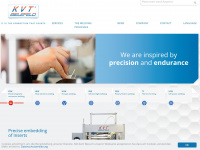 kvt-bielefeld.de Webseite Vorschau