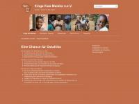 kinga-kwa-maisha.org Webseite Vorschau