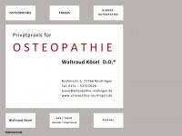 kinderosteopathie-reutlingen.de Webseite Vorschau