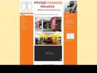 physiotraining-hv.de Webseite Vorschau